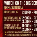 Watch World Cup Games on the Big Screen at WunderGarten!