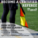 This is your chance to become a Referee!