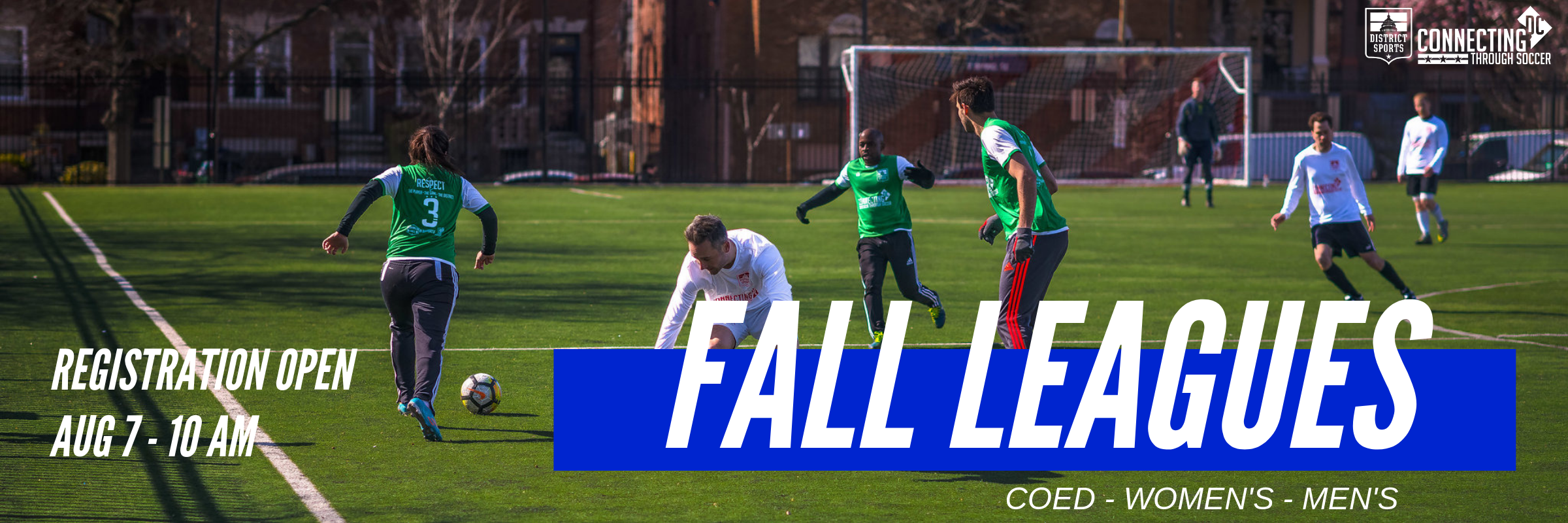 Fall Leagues Coming Soon!