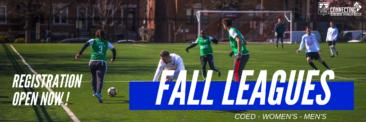 Fall League Registration Now Open!