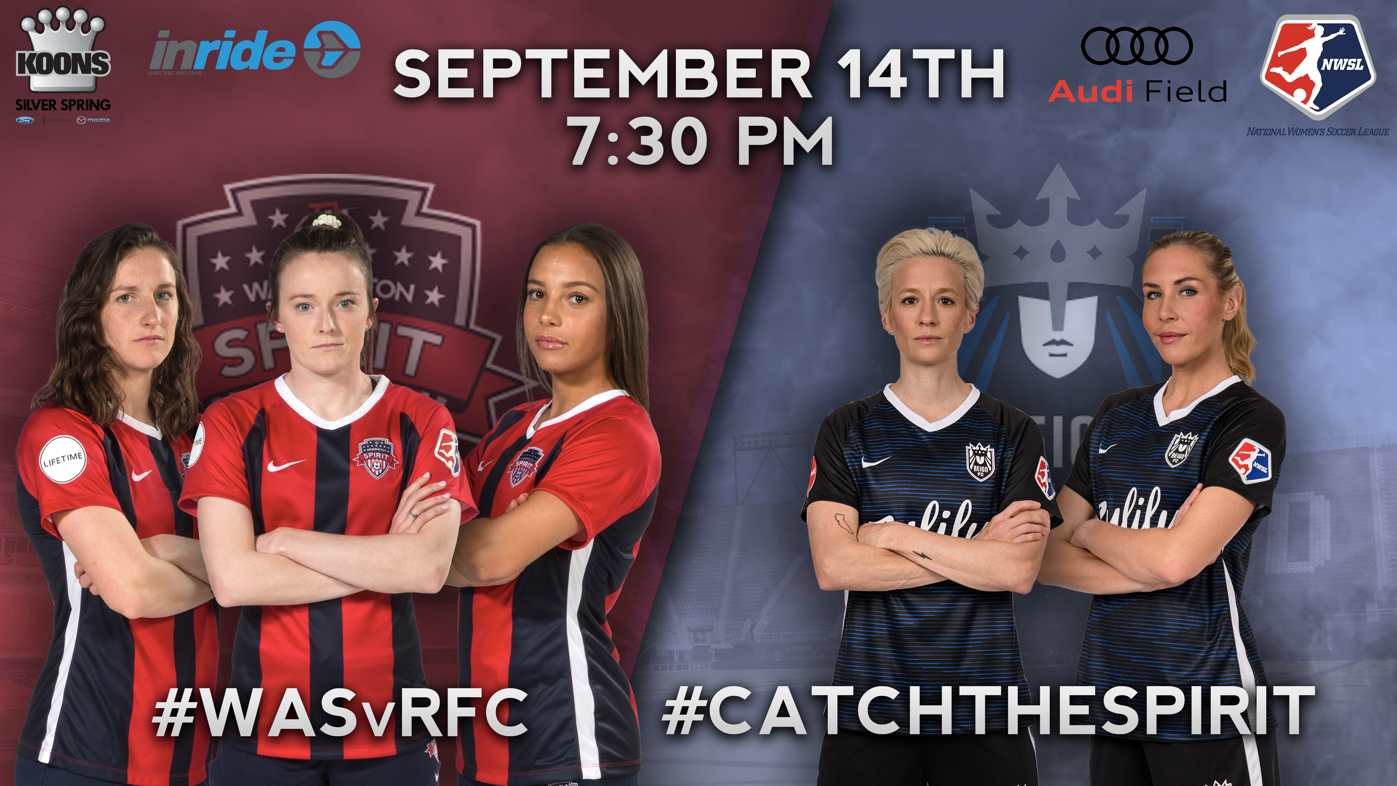 Washington Spirit – Discount Tickets at Audi Field!