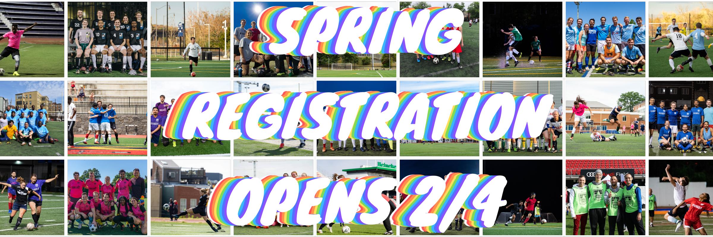 Spring Registration Opens 2/4!