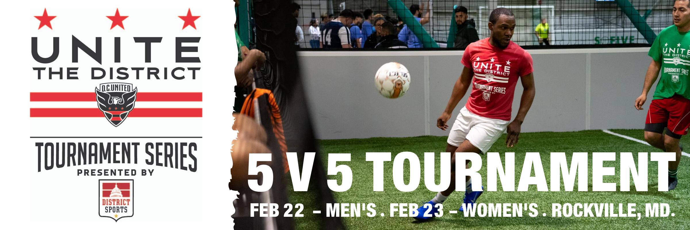 5v5 Indoor Tournament in Rockville – 2/22 and 2/23