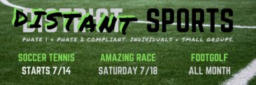 DISTANT Sports… We're Coming Back in July!