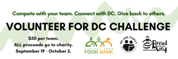 Volunteer for DC Challenge – Team Competition