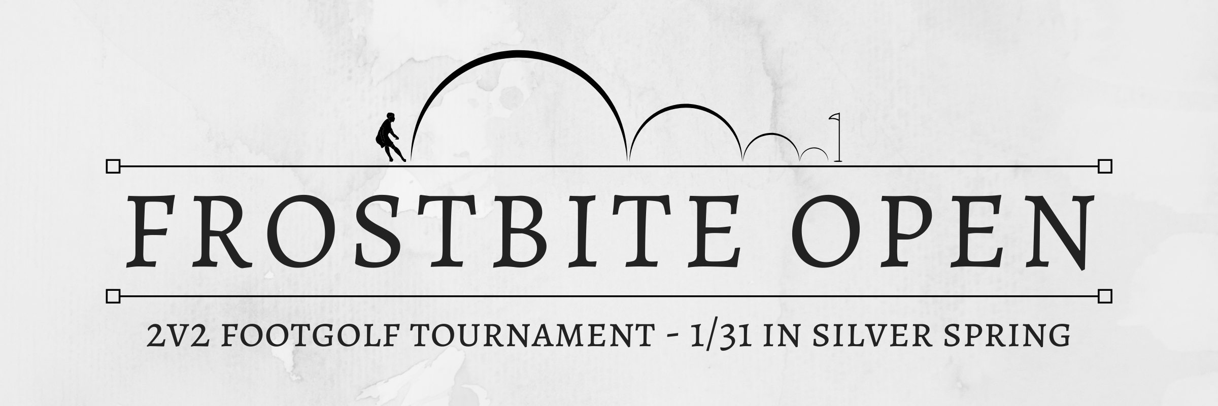 Frostbite Open – 2v2 Footgolf Tournament on 1/31