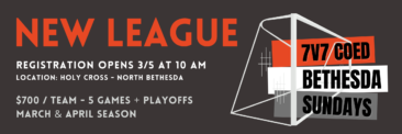 New Spring League – 7v7 Sundays in North Bethesda