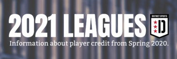Have League Credit from 2020? Fill out the Credit Opt-In Form by 3/9.
