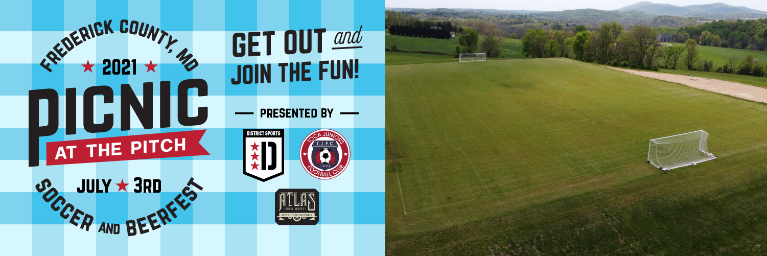 PICNIC AT THE PITCH – July 3rd Soccer and Beerfest